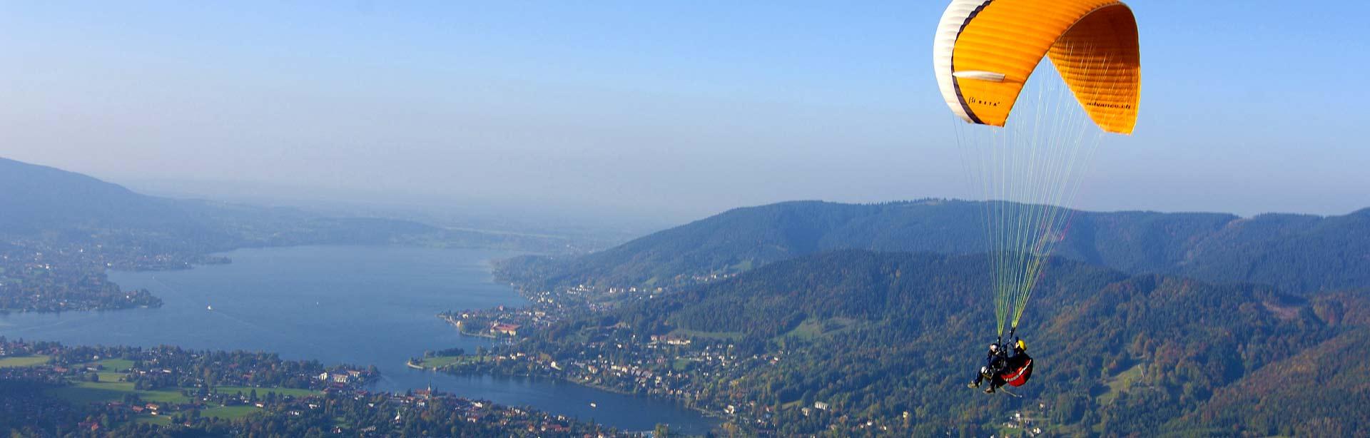 Bild Paragliding Tegernsee