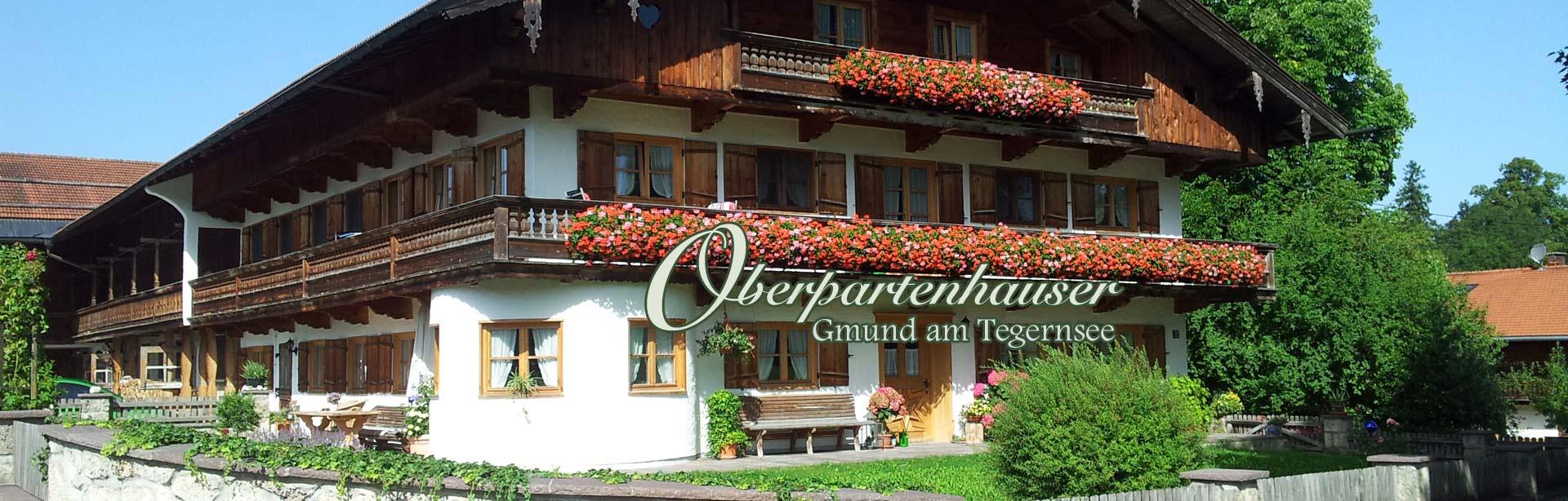 Bild Oberpartenhauser Hof Gmund